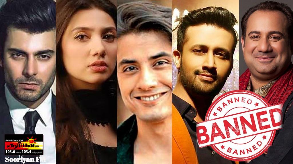 பாகிஸ்தானிய  நடிகர்கள் இனி நடிக்க முடியாது ; இந்திய திரையுலகம் அதிரடி முடிவு